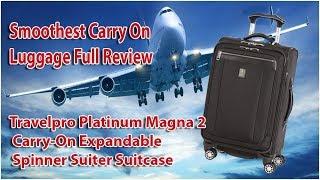 Travelpro Platinum Magna 2 Carry on Spinner Suitcase, is it worth $600 retail?