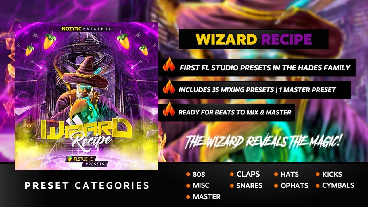 Wizard Recipe (FL Studio Presets)