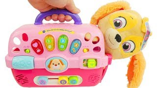 new pup carrier from vtech for paw patrol skye