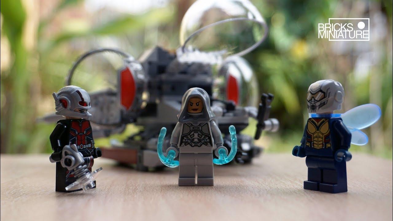 LEGO Marvel Super Heroes Ghost minifigure 76109 Quantum Realm Explorers 2018 NEW
