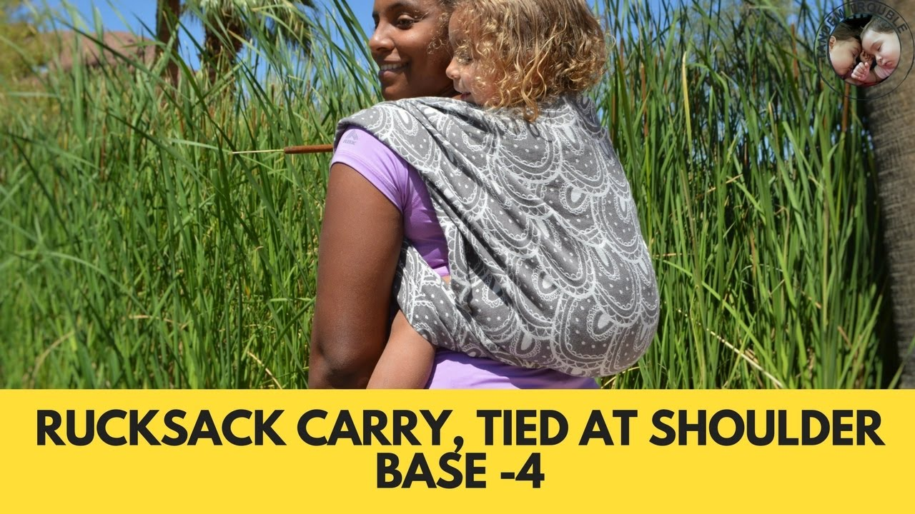 a4a545b392b Rucksack Carry Tied at the Shoulder (Ruck TAS) - YouTube
