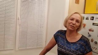 видео Горизонтальные жалюзи
