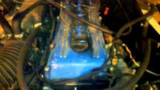 Звук мотора и выхлопа газ 3110