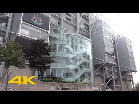 Newcastle Walk: Outside St James' Park | Newcastle United F.C. | 2020/21 Season【4K】