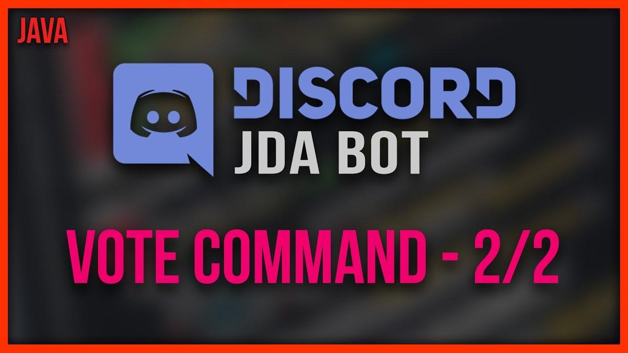 OUTDATED JDA Discord Bot Programmieren 🔹 #11 - Vote ...