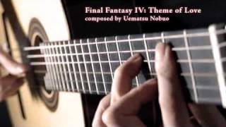 Final Fantasy IV :Theme of Love ( 愛のテーマ ) fingerstyle guitar by Da Vynci