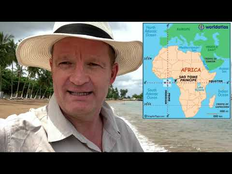 Video 131: Sao Tome and Principe: one of the least visited countries.