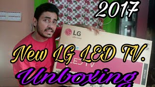 New LG LED TV 32LH564A. Unboxing / impression. First look 2017