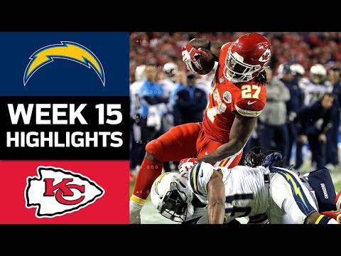 Chargers vs. Chiefs | NFL Week 15 Game Highlights