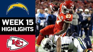 Chargers vs. Chiefs   NFL Week 15 Game Highlights by : NFL