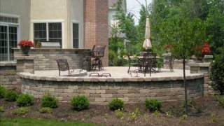 Brick Paver Outdoor Living (kitchen, Fire Pit, Lights, & Bar) - Paverstone Design Group