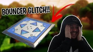 NEW FALL DAMAGE GLITCH WITH * BOUNCER *?! 😱😱-Fortnite Battle Royale in English