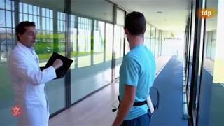 Reportaje de Teledeporte en Podoactiva con el atleta Álvaro de Arriba