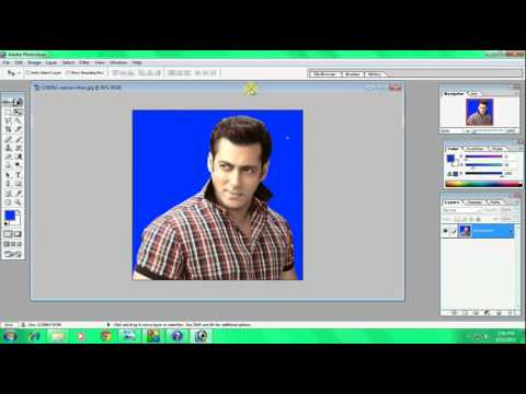 How To Change Background Color And Make Passport Size Photo In Hindi and Urdu By Shams Alam