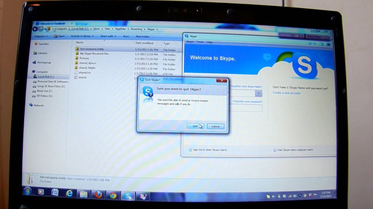 How To Delete Your History And Id's From Browser  Yahoo  Skype