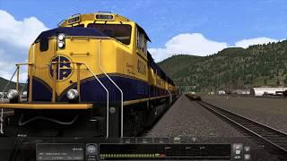 Train Simulator 2018 - [EMD SD70MAC] - Alaska Freight 125N, Pt. 1 [GWD359] - 4K UHD