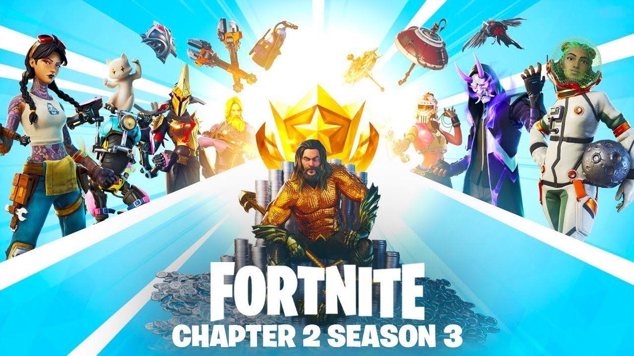 FORTNITE SEASON 3 *NEW* BATTLE PASS SKINS + SEASON 3 CHAPTER 2 TRAILER! (FORTNITE UPDATE)