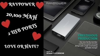 This is one of Ravpower's better quality battery banks that are des...