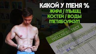 Какой у меня % жира/мышц в организме?! Обследование.