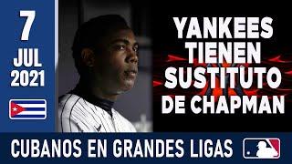🇨🇺 RESUMEN CUBANOS en GRANDES LIGAS / 7 Jul 2021 ⭐
