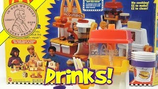 Mcdonald's Happy Meal Magic Drink Fountain Maker Set, 1993 Mattel Toys (fun Recipes)