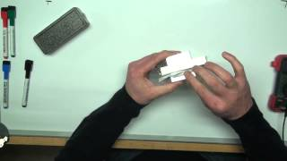 Simple demonstration of a hall effect sensor and how they work