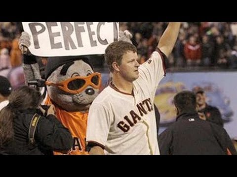 Matt Cain Throws First Perfect Game in SF Giants History!
