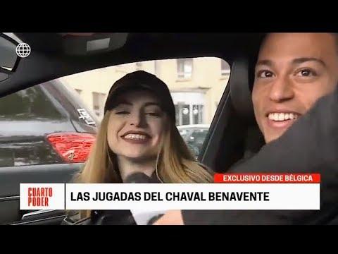 BENAVENTE Y SU NOVIA DESDE BÉLGICA HABLAN PARA CUARTO PODER