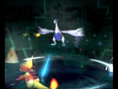 Pokemon XD Gale of Darkness: Purifying Shadow Lugia - YouTube