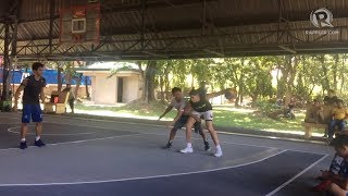 Kobe Paras joins last practice for FIBA 3x3 World Cup in Manila
