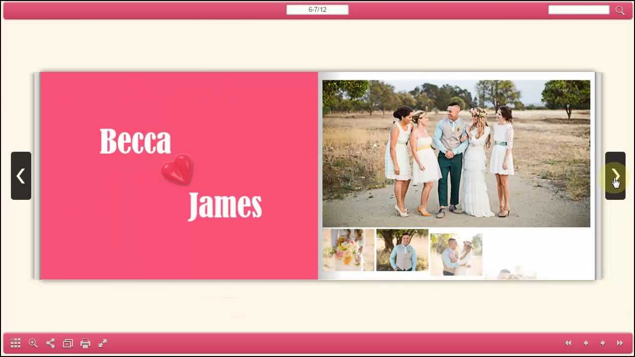 Flip Html5 Best Platform To Make Wedding Photo Albums Online Youtube