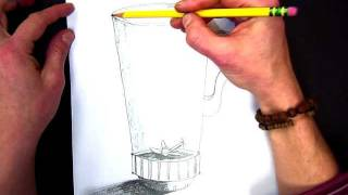 How to Draw a 3-D Blender for Blending Sounds