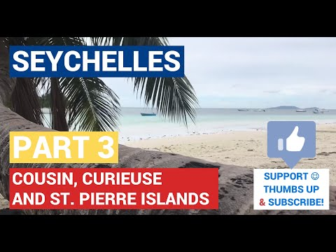 Cousin, Curieuse and St. Pierre Islands / Seychelles