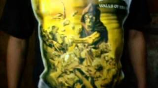 HELLOWEEN - WALLS OF JERICHO REMERA