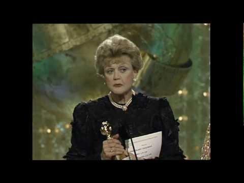 Angela Lansbury Wins Best Actress TV Series Drama  Golden Globes 1990