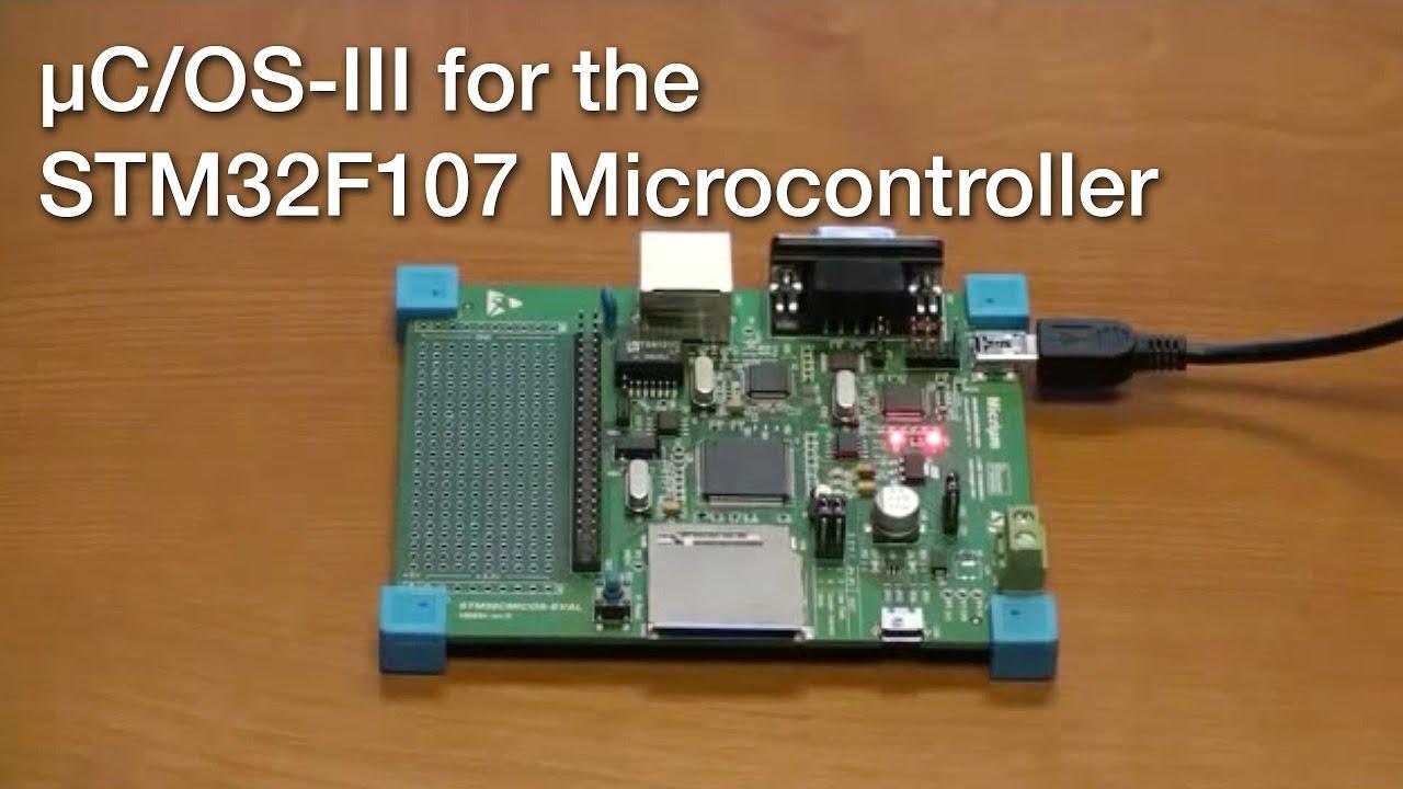 μC/OS-III for the STM32F107 Microcontroller