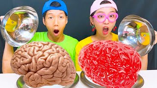 REAL FOOD VS CHOCOLATE FOOD CH…