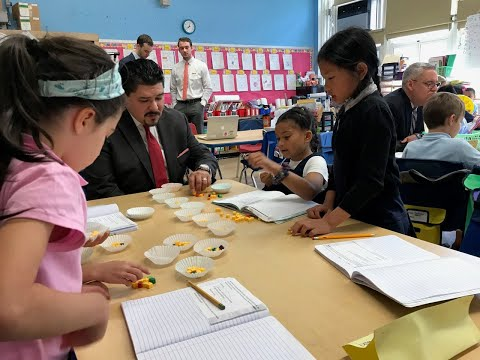 9 highlights from Chancellor Carranza's visit to 2 Staten Island schools