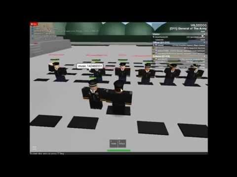Roblox - U.S.  Army Promotion Ceremony For Brigadier General