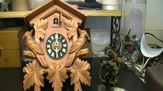 Cuckoo Clock Regula Movement Replacement Preview