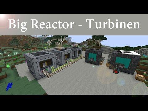 Minecraft Tutorial: Big Reactors - Turbine - einfach gebaut [Deutsch]