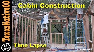 "Hunting Cabin Construction ""slide Show"" (part 2)"