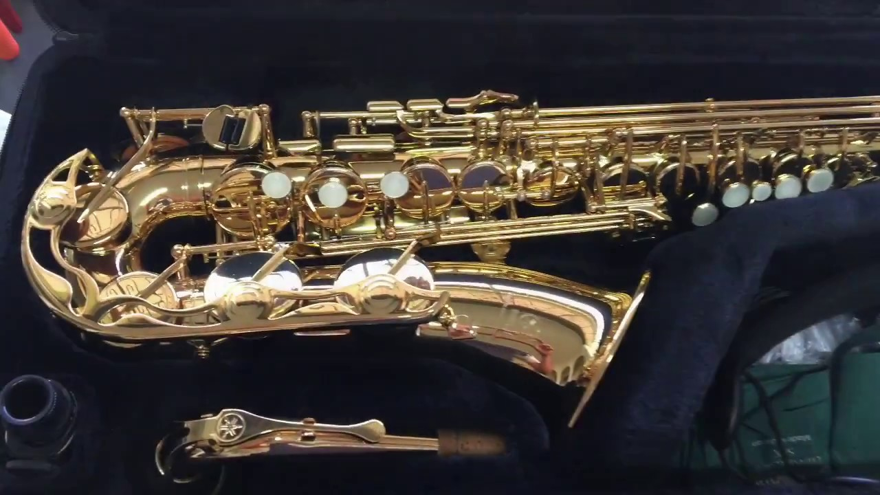 manuten o em saxofone alto yamaha yas 275 youtube. Black Bedroom Furniture Sets. Home Design Ideas