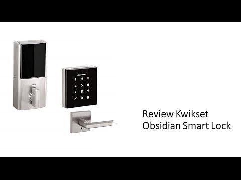 Kwikset Obsidian Smart Lock    Review