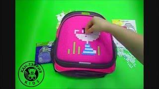 рюкзак 4all kids с пикселями