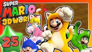 SUPER MARIO 3D WORLD 🐱 Part 25: Happy bei Boss Rush, Salty bei Rätselhaus-Marathon & Captain Toad