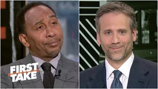 Stephen A. exposes Max's cold take on Kevin Durant vs. Giannis   First Take