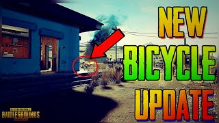 PUBG Mobile New Upcoming Mega Update | New Vehicle Bicycle, New Desert Map & Many more things!!