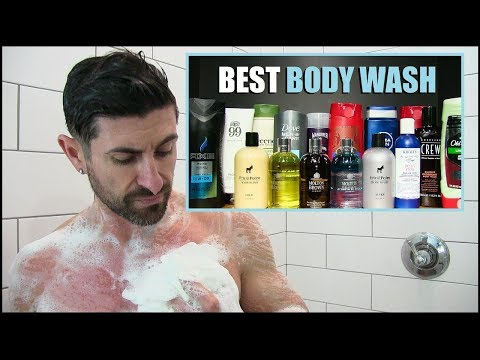 The BEST Men's Body Washes Of 2018! (Favorite Cheap & Expensive Wash)