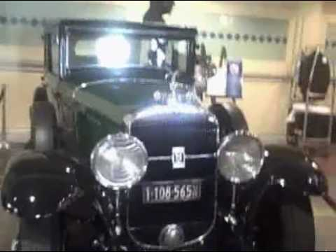 Al Capone's Bullet proof Cadillac